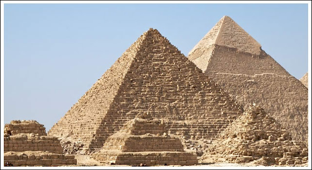 The Illuminati Elite is represented by the capstone of the pyramid and the Profane by the stones.