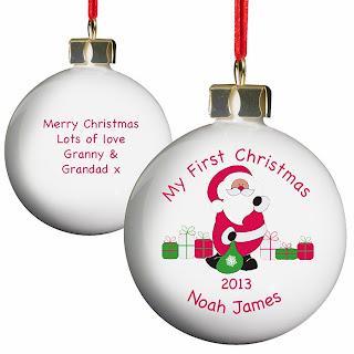 Personaised Christmas Tree Bauble