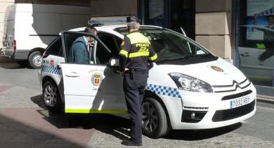c4 picasso policia