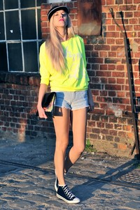 reserved neon blouse