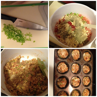 at home turkey meatloaf muffins