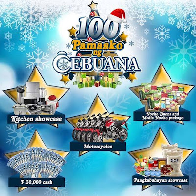 Be a Ka-Cebuana and win up to Php20,000 cash this Christmas
