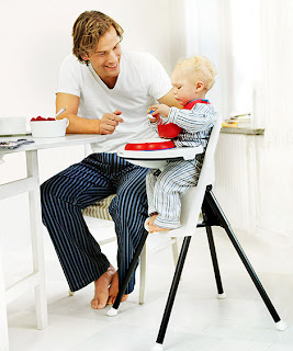 cadira trona plegable per nens BabyBjorn