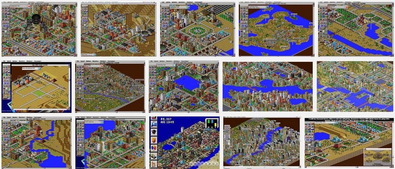 SimCity 2000 imagini
