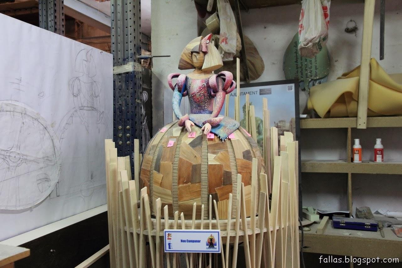 Visite de l 39 atelier de manolo garc a fallas de valencia - Atelier valencia ...