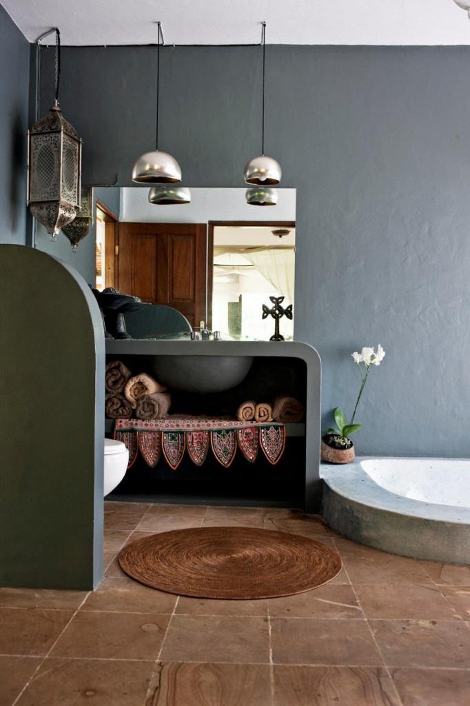 Decoritzion ba os de cemento pulido polished concrete baths - Banos de cemento pulido ...