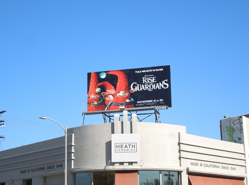 Rise of the Guardians movie billboard
