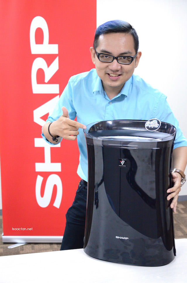 Combat The Haze With SHARP Malaysia Mosquito Catcher Plasmacluster Air Purifier (FPFM40LB)