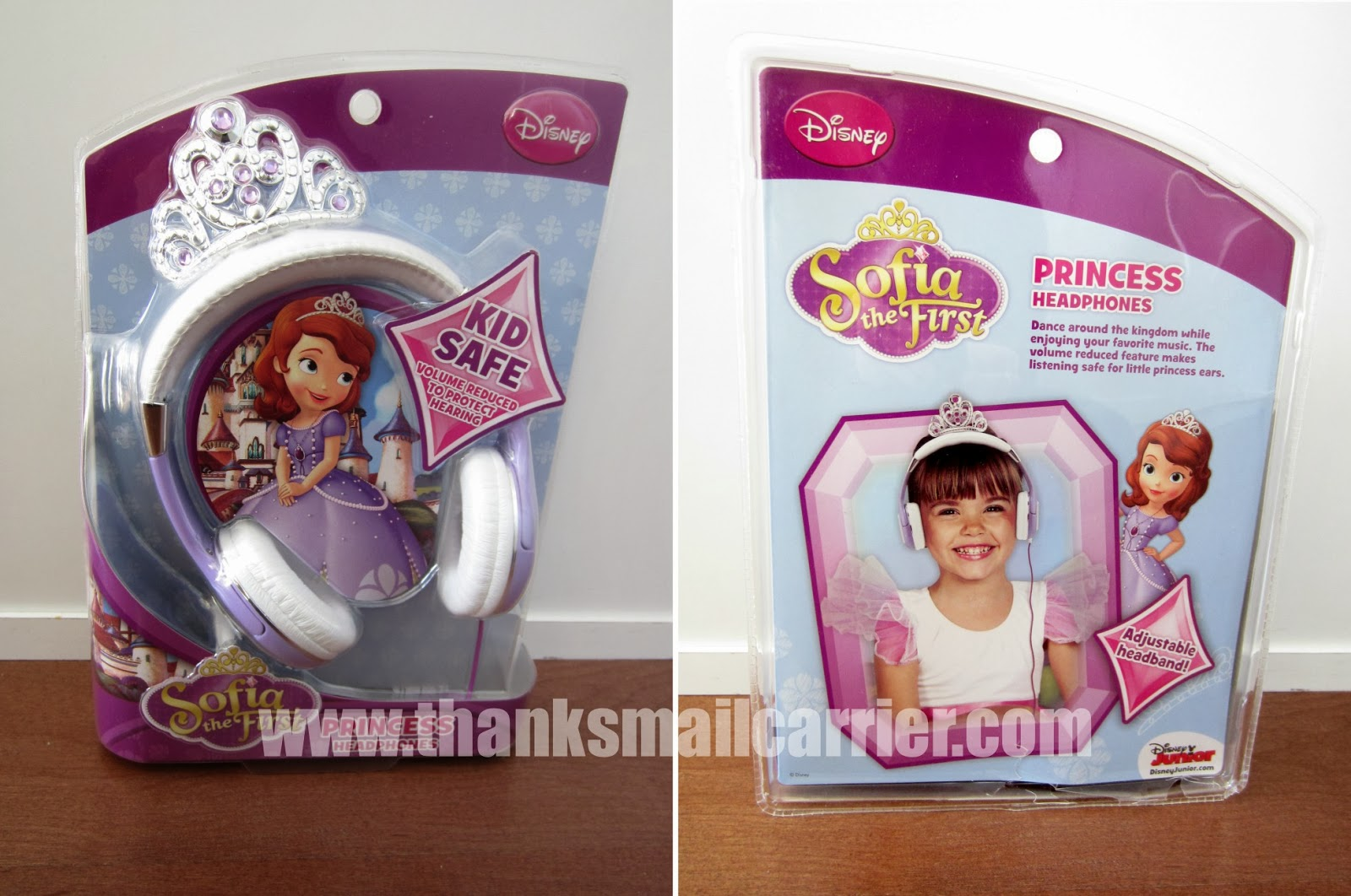 KIDdesigns Sofia the First headphones