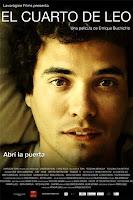 Póster de El cuarto de Leo, película de Uruguay