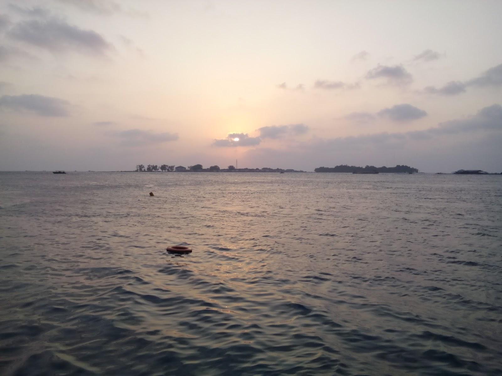 Yf1ar Yankee Foxtrot One Alpha Romeo 0 Ybff 025 Oc 177 Fun Dive Pramuka Island Sunset At Islands