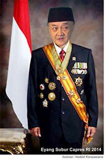 Eyang subur Calon Presiden untuk Indonesia berubah ?