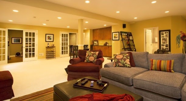 Inexpensive Basement Remodeling Ideas | 611 x 334 · 39 kB · jpeg