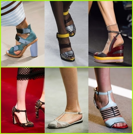 Frühjahr/Sommer 2015 Damenschuhe Trends