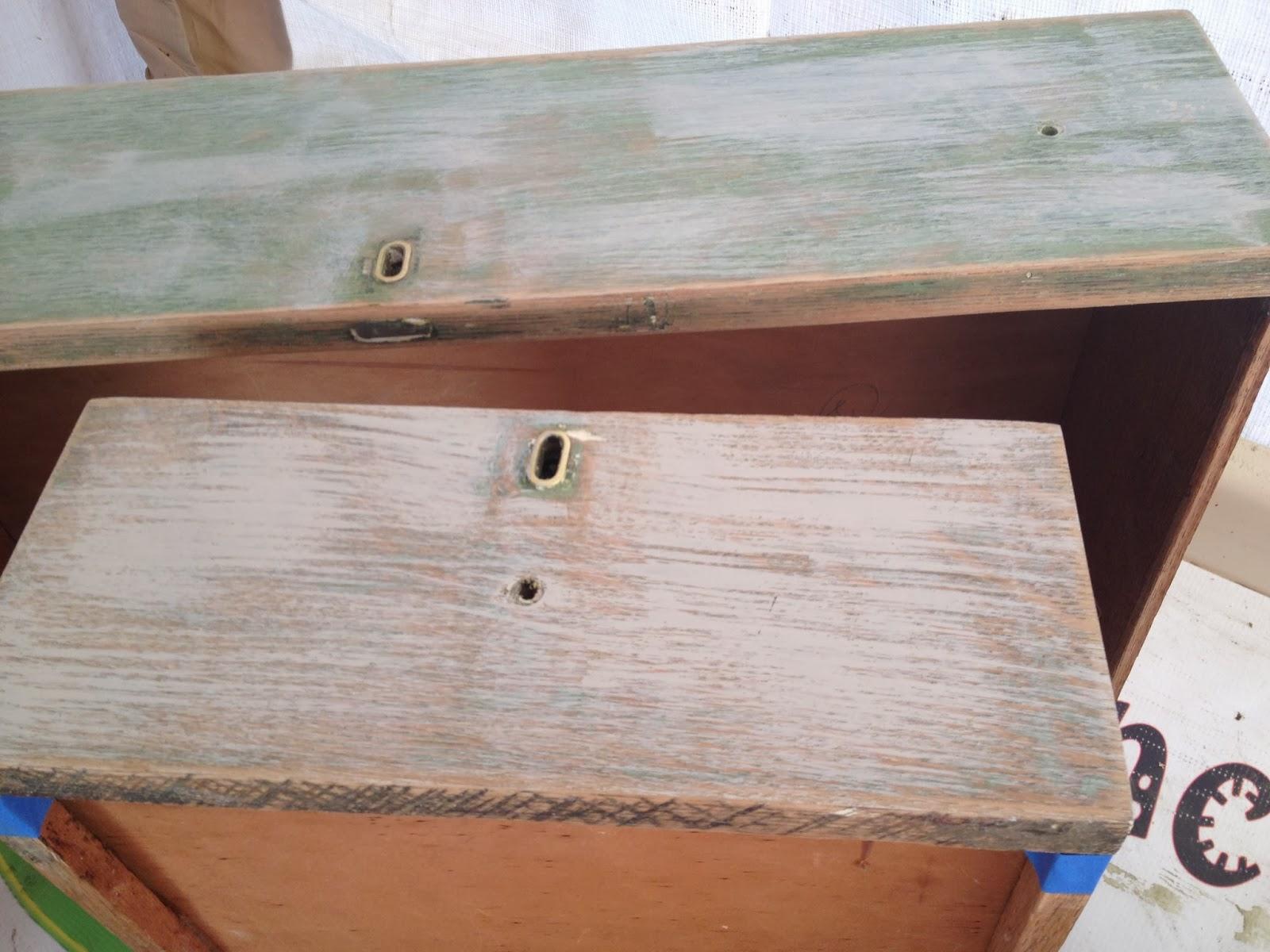 black antique dresser drawers before