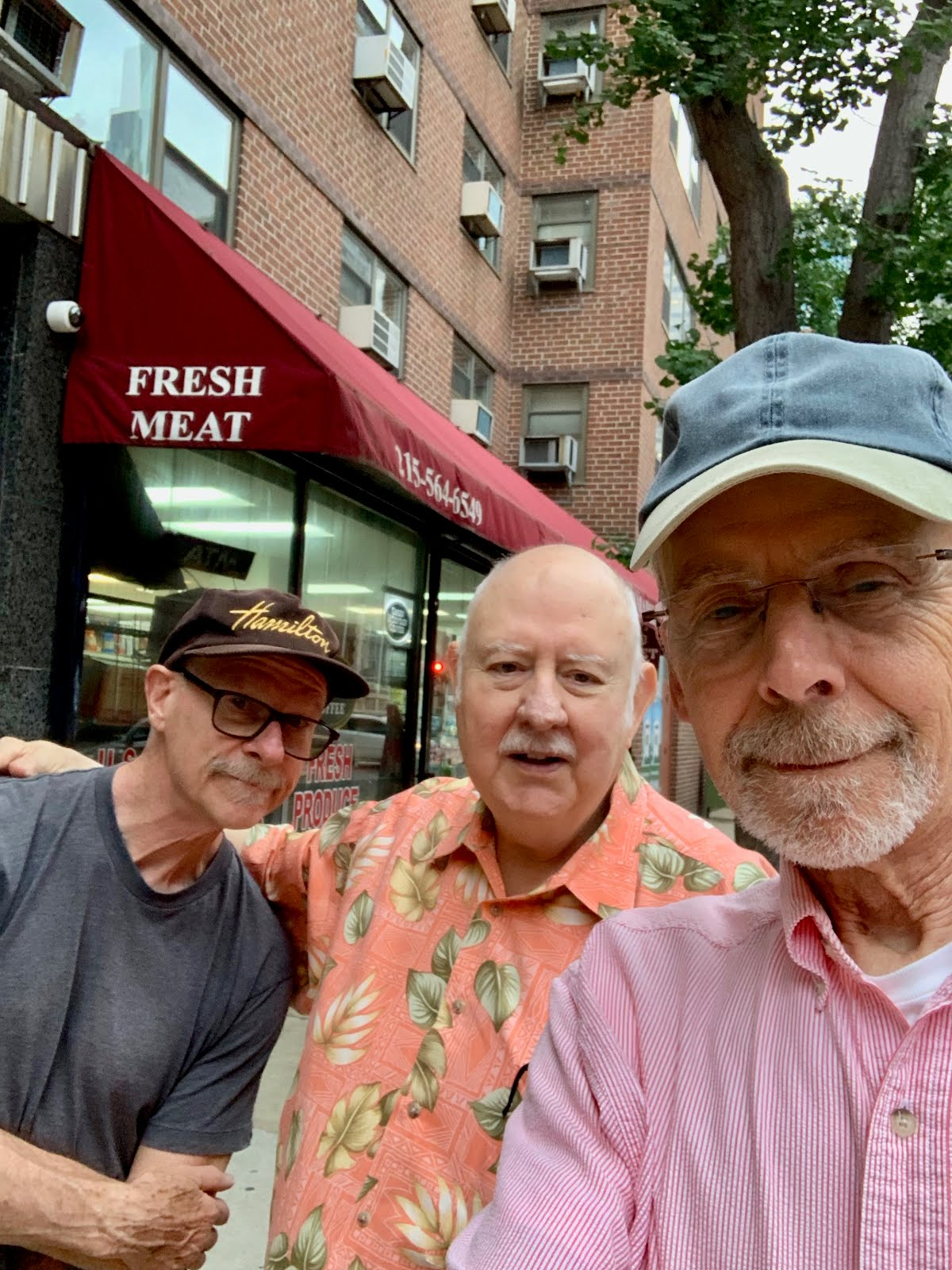 Pat, Dave and Ron in Philly 2019