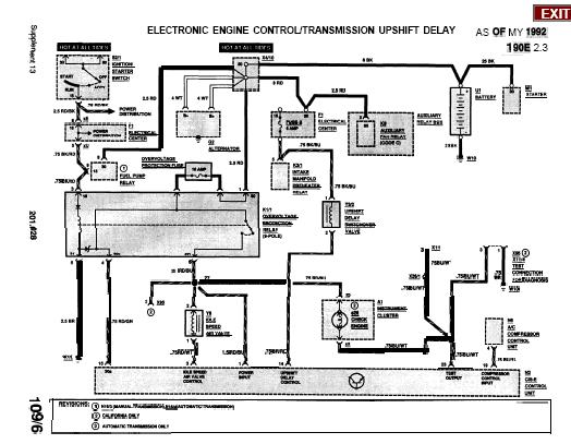 Repair manuals july 2012 mercedez 190e electric wiring diagrams asfbconference2016 Gallery