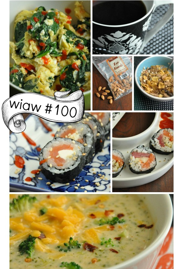 WIAW What I Ate Wedensday 100 and Healthy Holiday Recipes