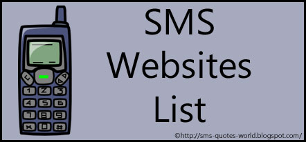 SMS Websites Lists