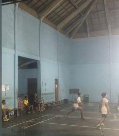 Singapadu.Bali. Badminton.