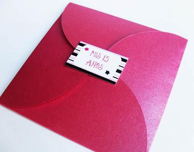 PuntoSur | Gráfica para Eventos: Invitación para 15 años - Sobre ...
