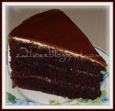 Resepi Kek Coklat Frosting Sragen D