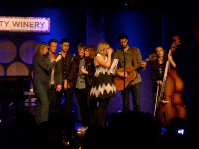 City Winery concert finale