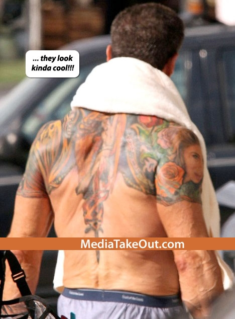 Sylvester stallone tattoos sylvester stallone tattoos sly stallone