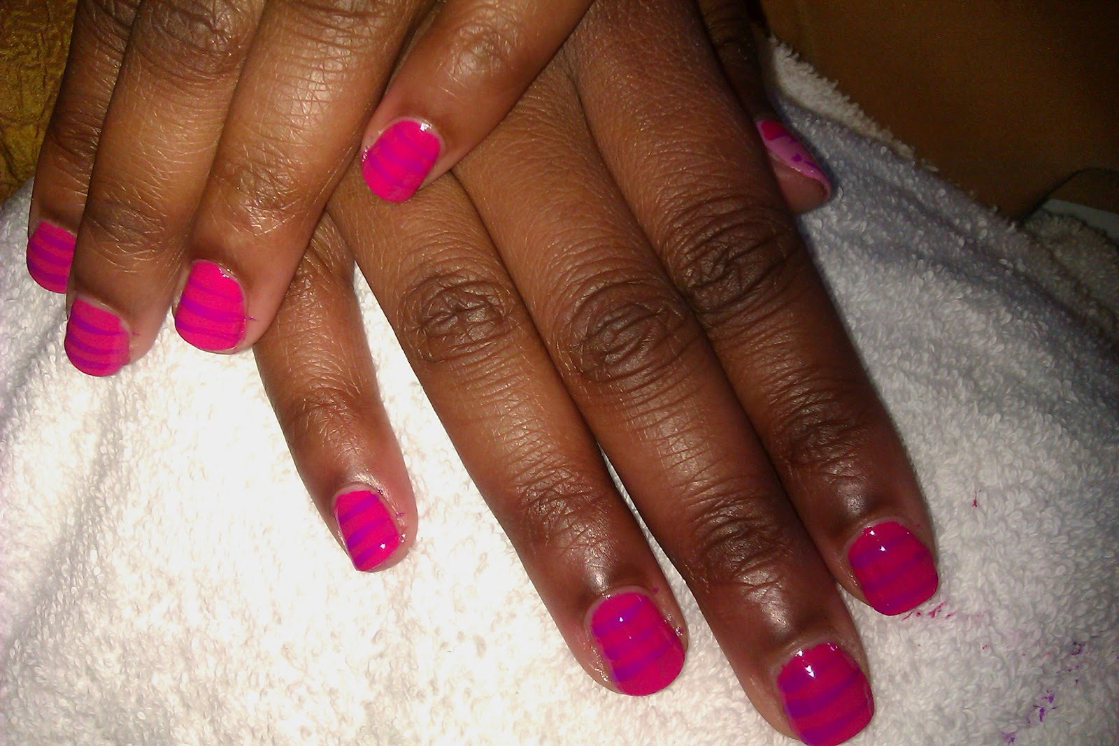Food & Lacquer Too: Wow... That Curse Aint No Joke! Lol...