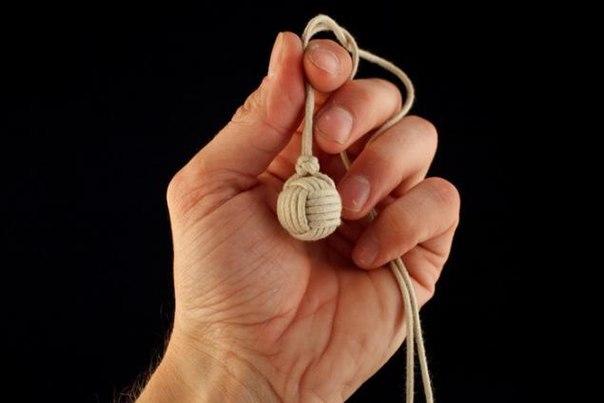 Как сделать шарик на веревке