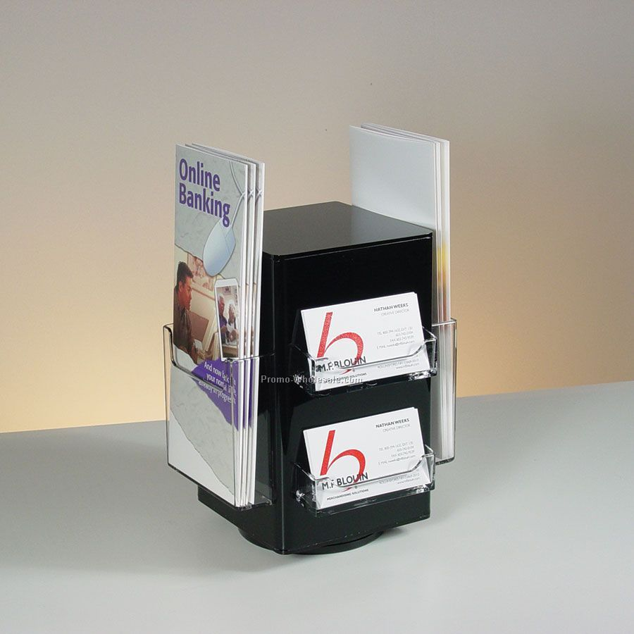 Brochure Kiosk Pics: Brochure Holder Business Card