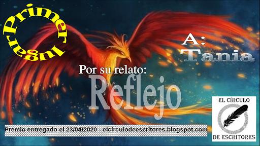 """Primer puesto concurso de cuentos """"Ave Fenix"""""""