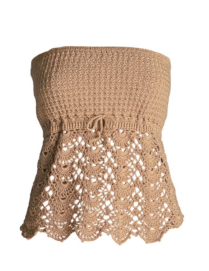 Tube Top Crochet Pattern