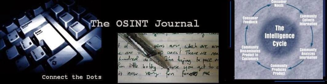 The OSINT Journal