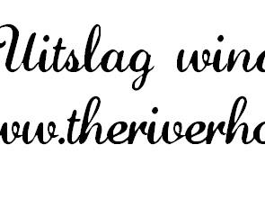 Uitlsag winactie www.theriverhouse.nl