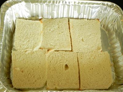 Горячий бутерброд с пюрехой