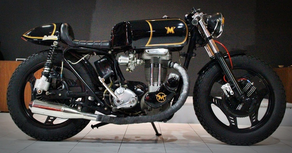 Bike Cafe Racer Parts : Matchless cafe racer by studio motor return of the