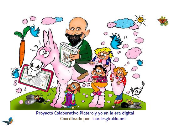 PARTICIPAMOS EN EL PROYECTO COLABORATIVO LIBRO VIRTUAL PLATERO Y YO EN LA ERA DIGITAL