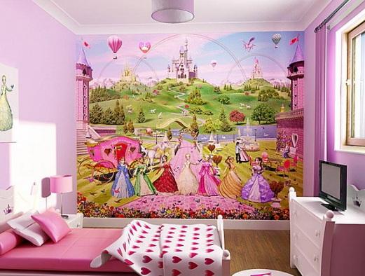 Kids Bedroom Wallpaper Decoration Ideas | Home Designs Plans