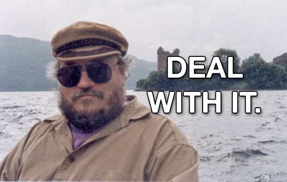 George RR martin deal with it