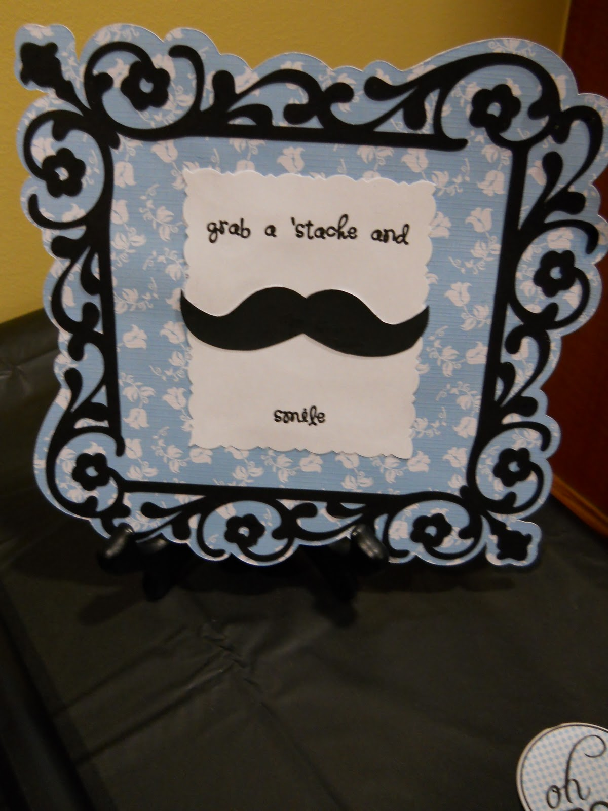 Kentucky Home Lil Man Mustache Shower