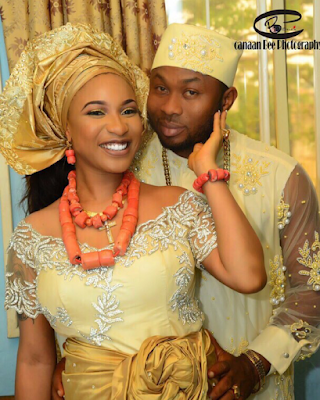 Photo speaks: Tonto Dike's Traditional marriage, a must see!