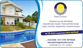 Pool Center Amor ao primeiro mergulho Av