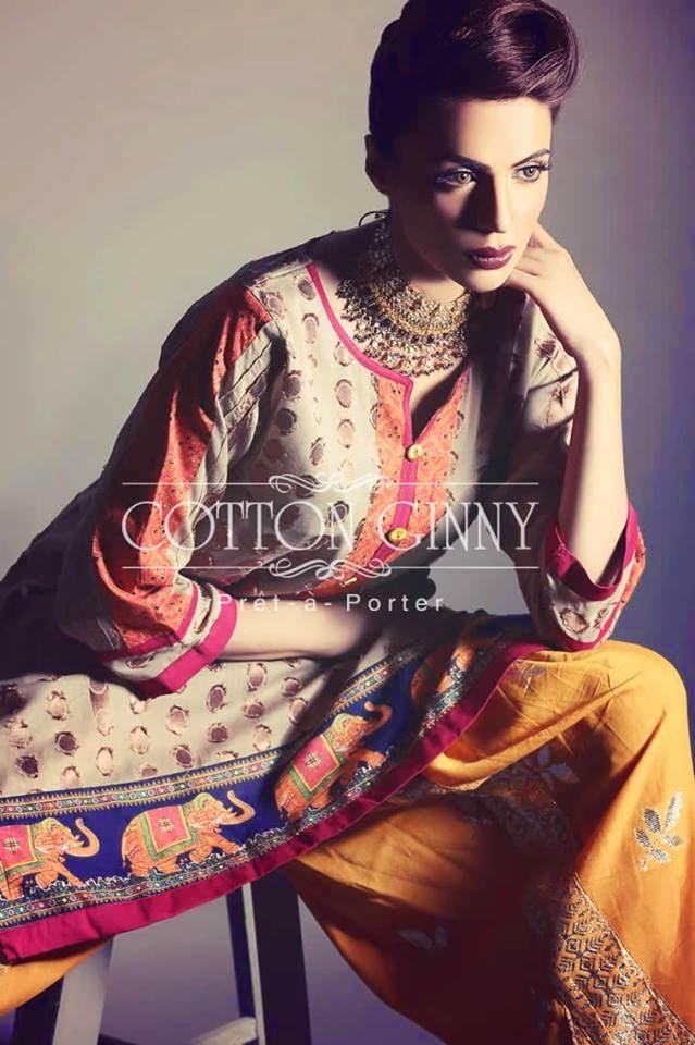 Fashionable eid wear dresses for women by range 2017