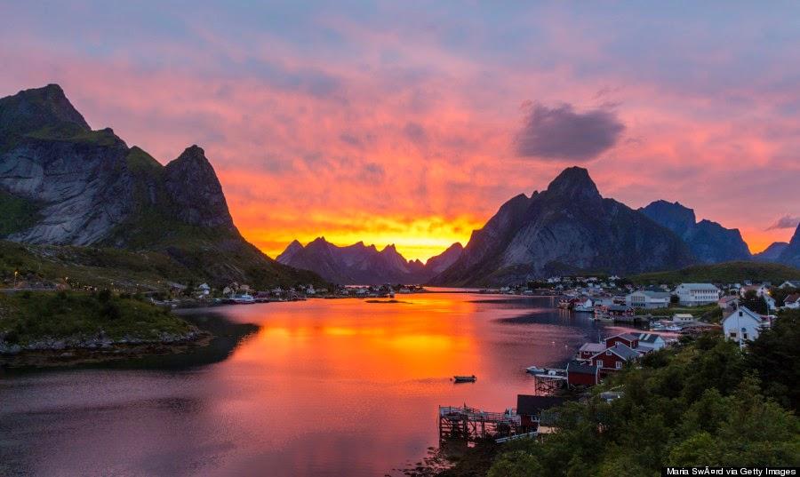Reine, Desa Nelayan Yang Indah, Tenang dan Nyaman
