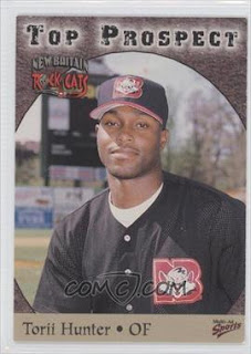 1998 Multi-Ad Sports Eastern League Top Prospects #11 - Torii Hunter - Courtesy of COMC.com