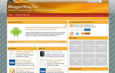 BloggerMag V2