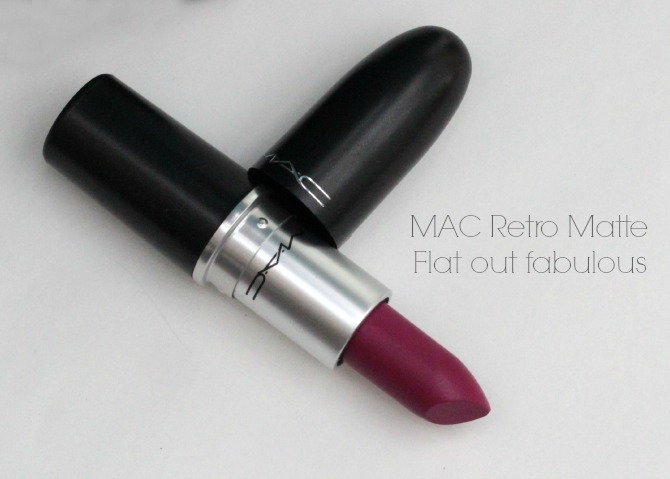 MAC Retro Matte in Flat Out Fabulous