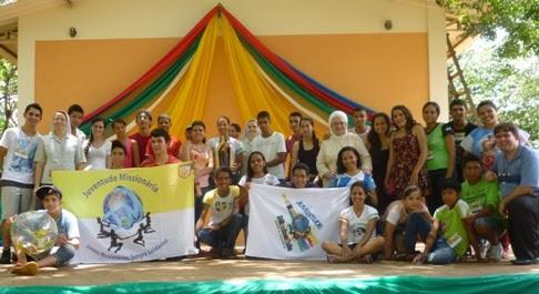 Juventude Missionária no estado do Mato Grosso promove formação