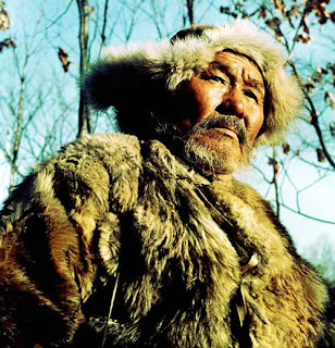 Maksim Munzuk as Dersu Uzala, Best Foreign Picture Oscar winning Russian Adevnture Drama Film, Directed by Japanese master filmmaker Akira Kurosawa